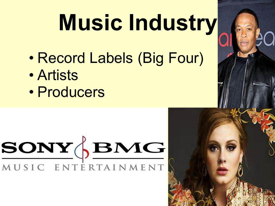 Music Industry Record Labels (Big Four) Artists Producers