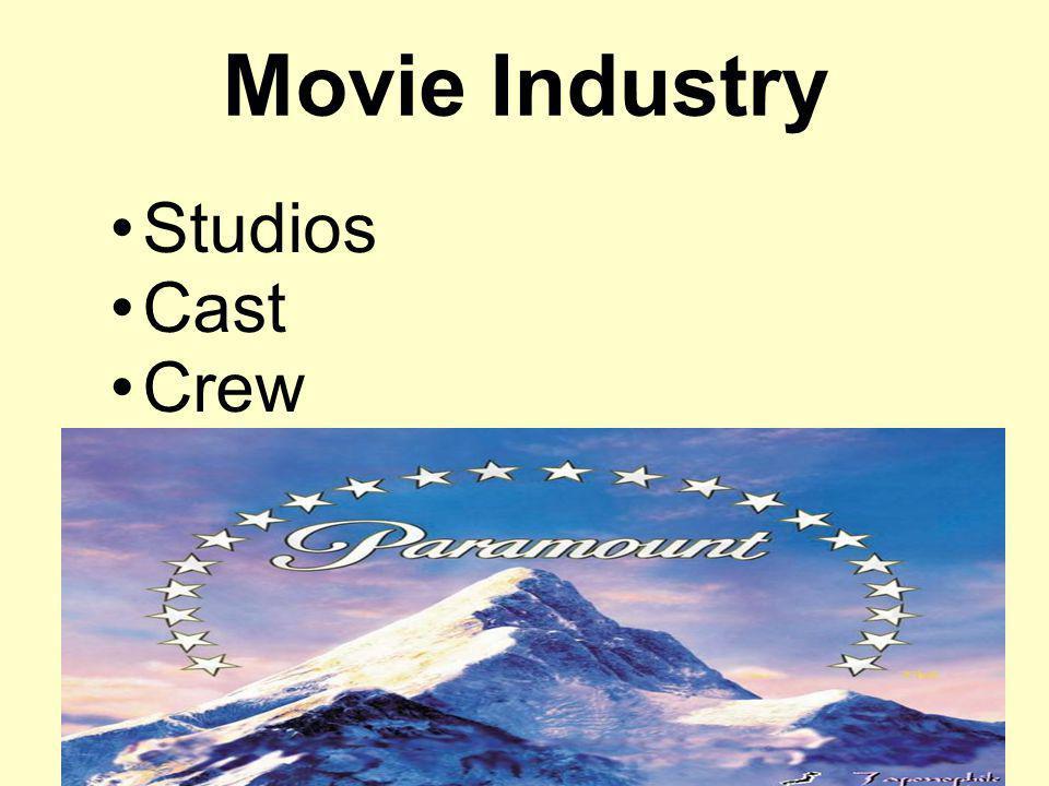 Movie Industry Studios Cast Crew