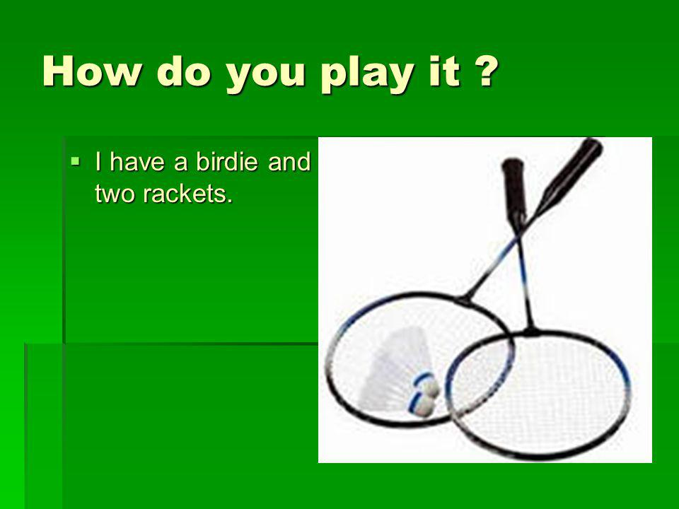 Can you score with one hit .Well, it`s very good if you can do that .