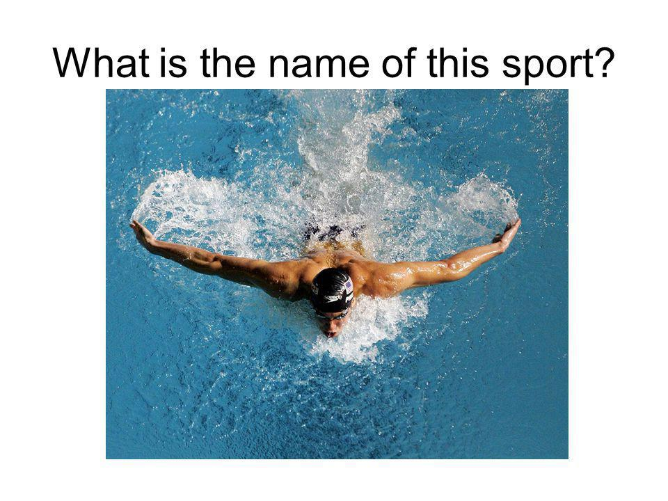 What is the 2 names of this sport?