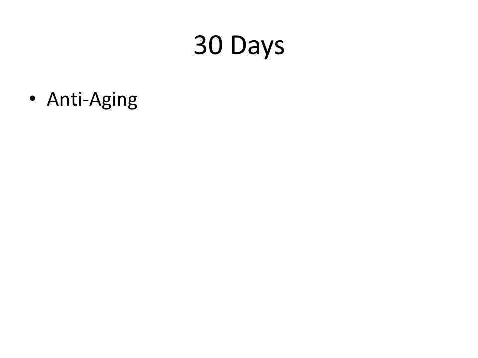 30 Days Anti-Aging