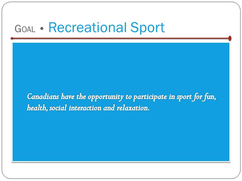 G OAL Recreational Sport