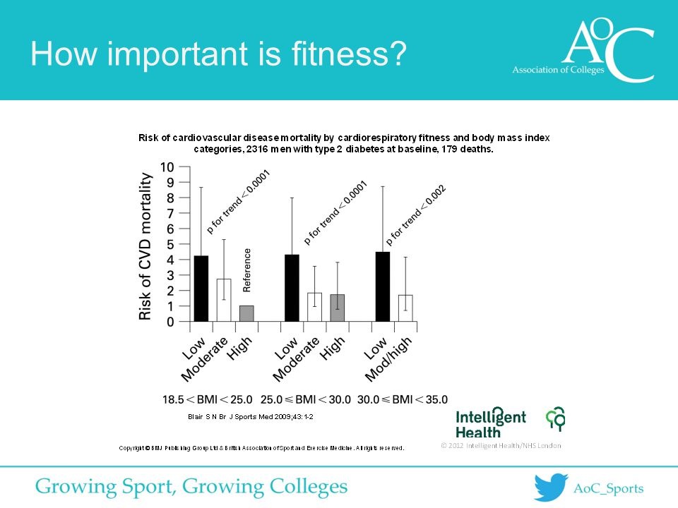 How important is fitness