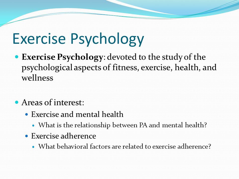 Research Methods in Sport and Exercise Psychology Questionnaires Psychological inventories: standardized measures of specific forms of thoughts, feelings, or behaviors Interviews Structured, systematic to gain in-depth understanding of individuals beliefs, experiences or values