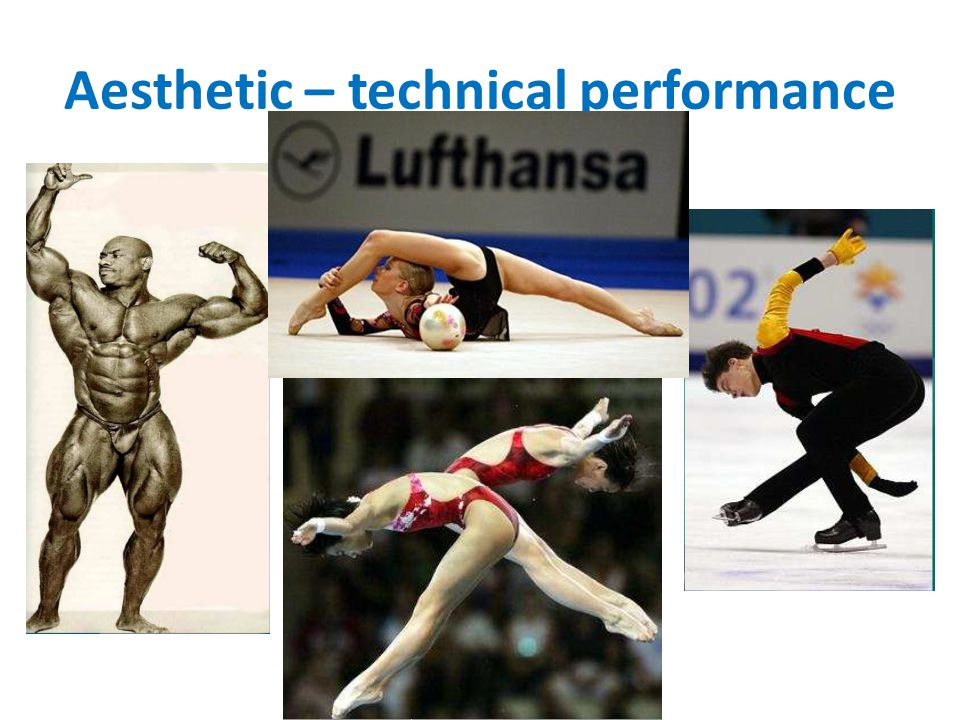 Aesthetic – technical performance