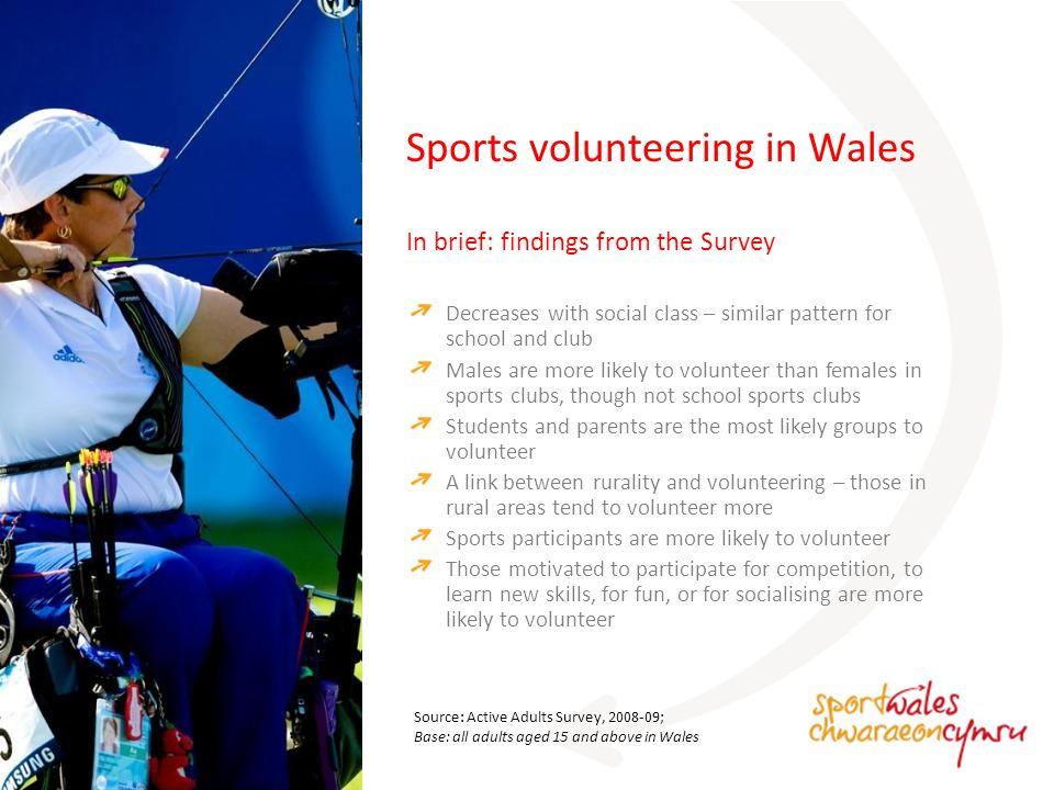 How do people get into volunteering in sport? How might we get more people volunteering in sport?