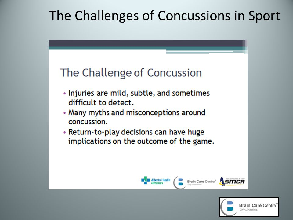 The Challenges of Concussions in Sport
