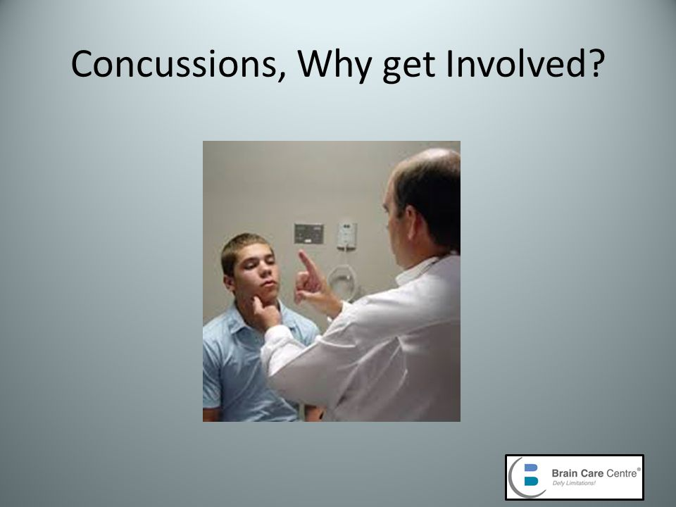 Concussions, Why get Involved