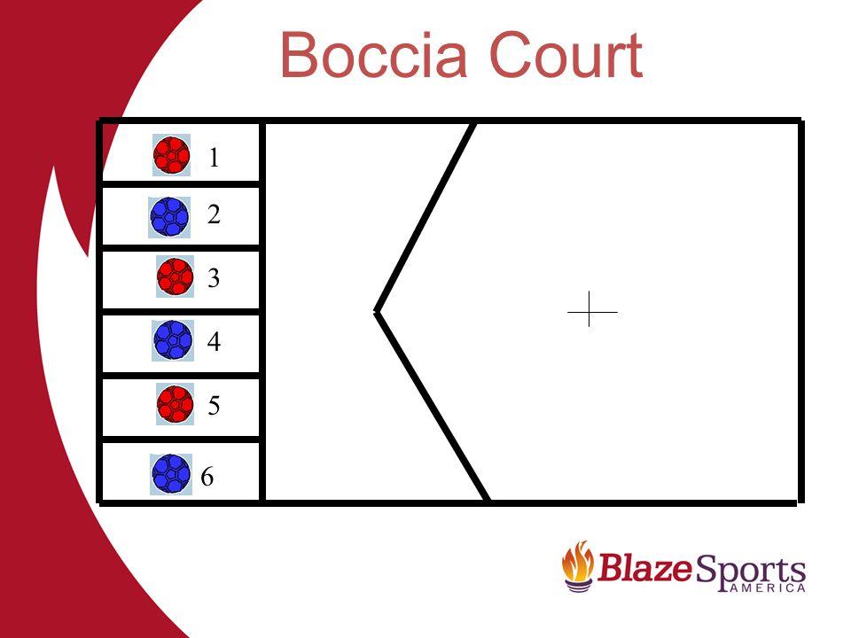 Boccia Court 1 2 3 4 5 6