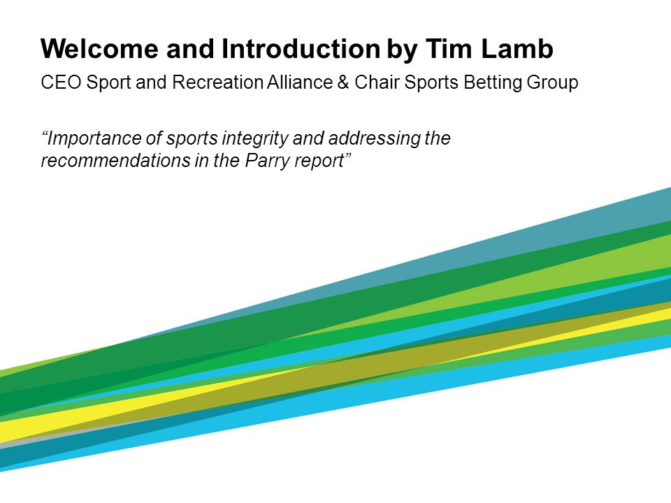 Minimum standards cont… - 2.5 report any approach or other activity which contravenes, or which may contravene, the sports rules on betting, co-operate with any investigation and/or request for information including the provision of documentation (eg telephone/betting records to officials engaged in the investigation of suspected integrity issues in the sport in relation to betting)