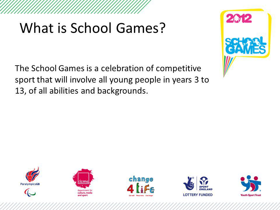 What is School Games.