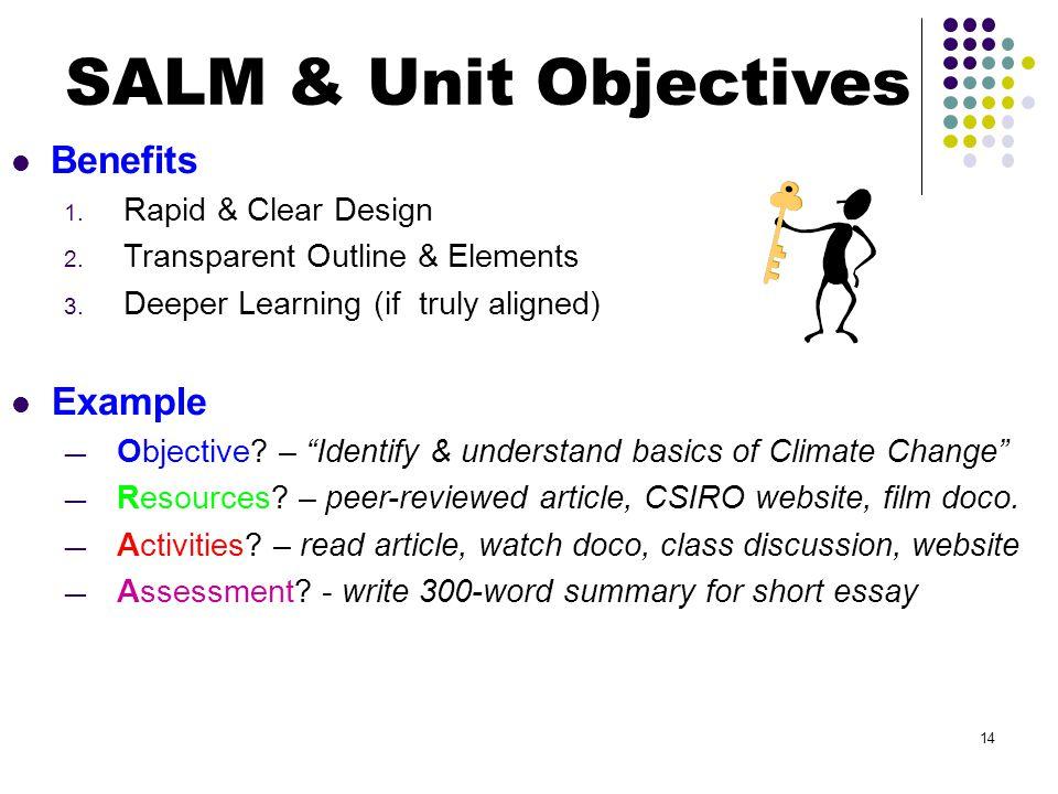 Benefits 1. Rapid & Clear Design 2. Transparent Outline & Elements 3.