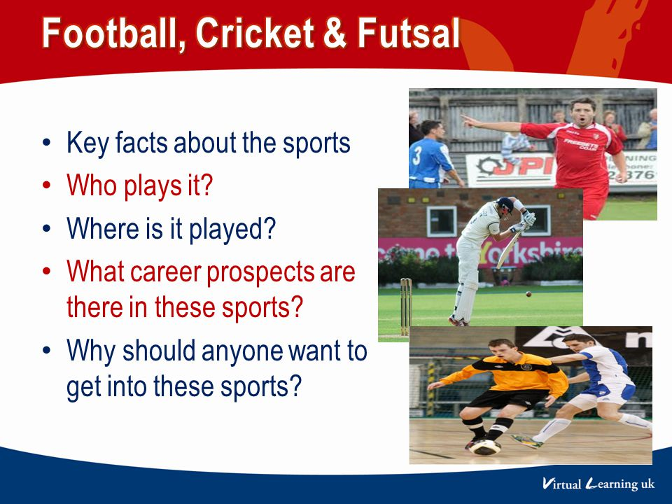 Key facts about the sports Who plays it. Where is it played.