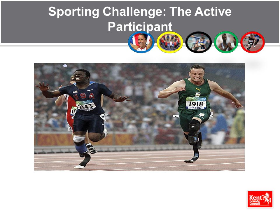 Sporting Challenge: The Active Participant