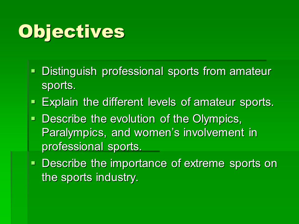 Professional Sports, ctd.Teams in professional sports are considered _______________________.