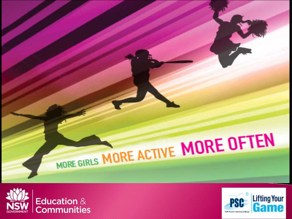 Girls in Sport more girls, more active, more often