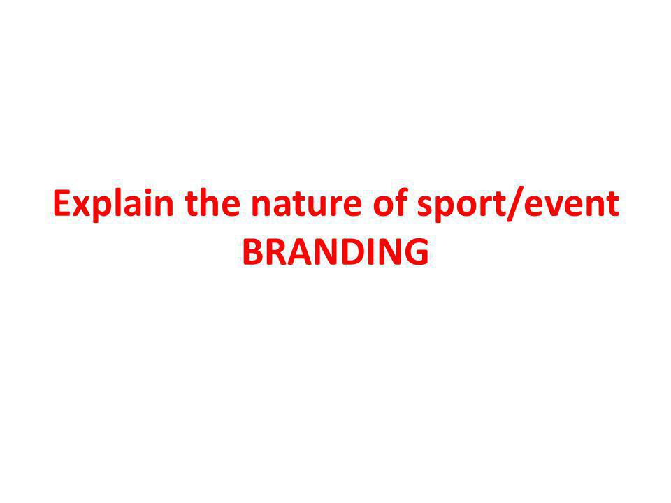 What is a BRAND.