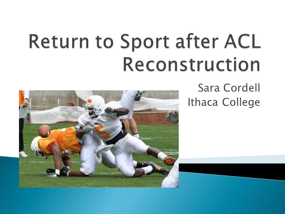 Sara Cordell Ithaca College