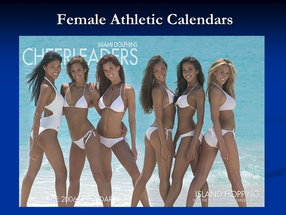 Female Athletic Calendars