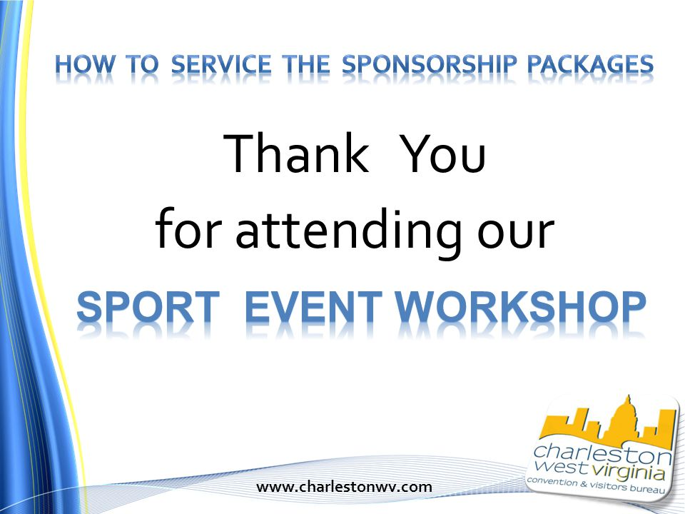 Thank You for attending our www.charlestonwv.com