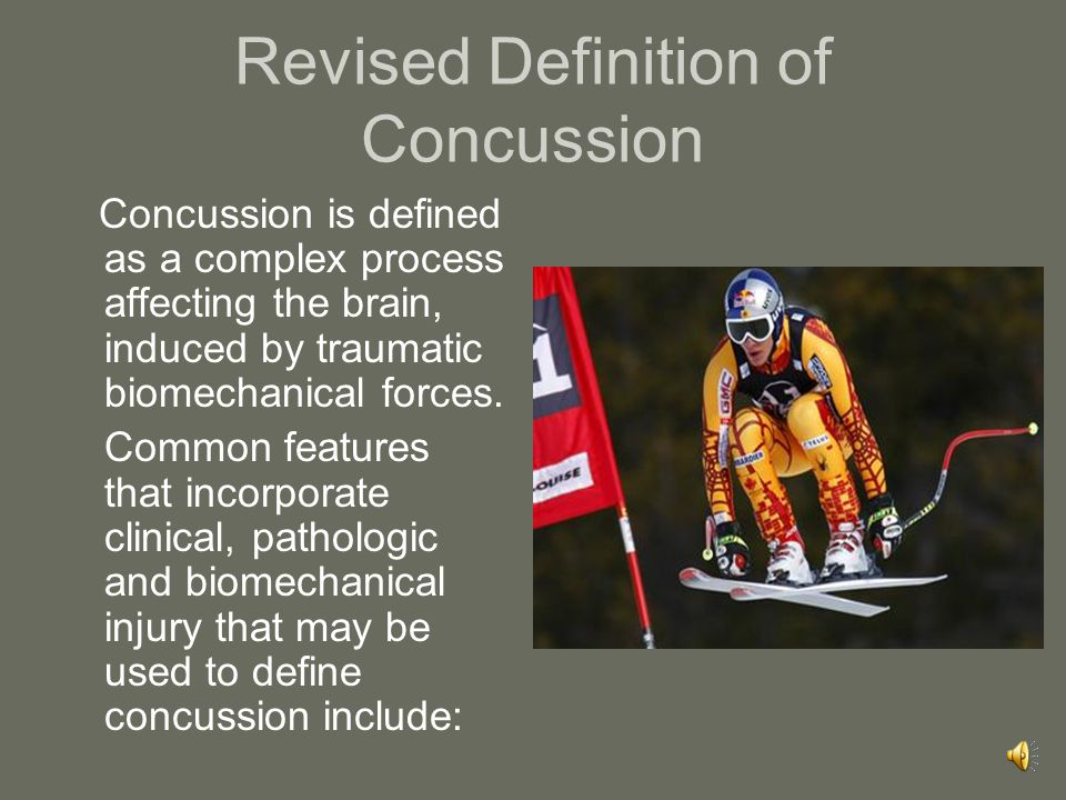 Concussion Guidelines Developed for use by doctors, therapists, health professionals, coaches and others involved in the care of injured athletes with