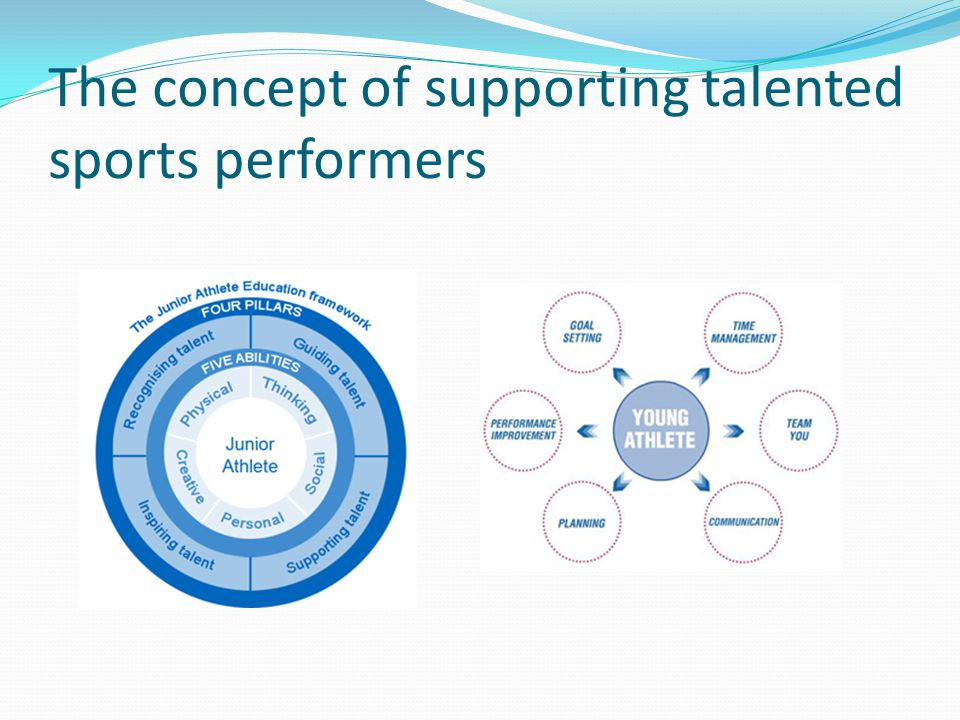 The JAE Programme JAE Pillar 1: recognising talent: Select the right young people onto the schools talent support programme.