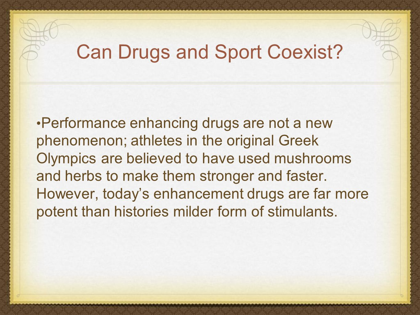 pros and cons of performance enhancement drugs Advantages and disadvantages of testing for performance enhancing drugs exam aswers search engine  submit pros & cons of drug testing in sports | healthfully.