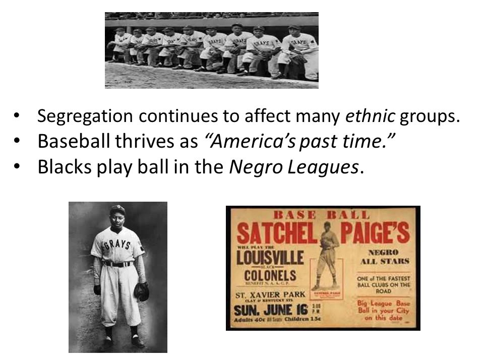 Segregation continues to affect many ethnic groups.