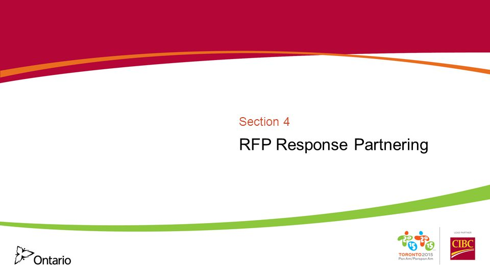 RFP Response Partnering Section 4