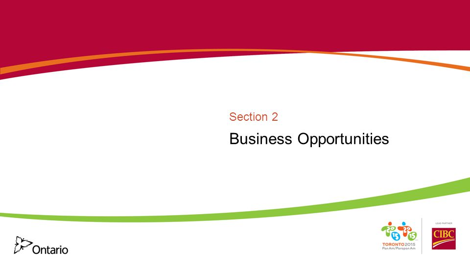 Business Opportunities Section 2