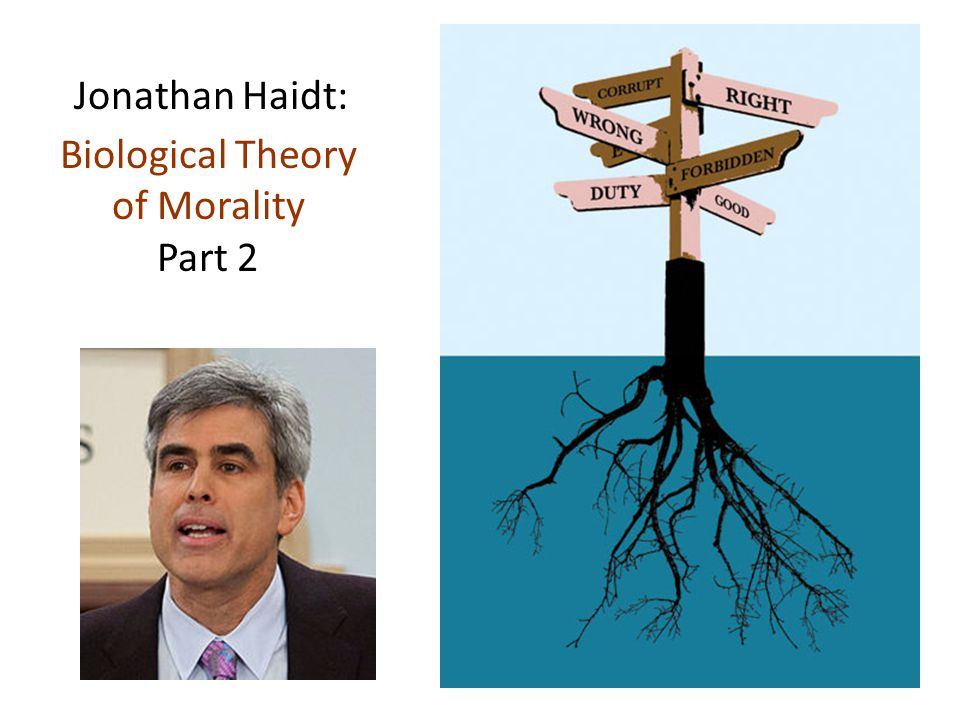 Jonathan Haidt: Biological Theory of Morality Part 2