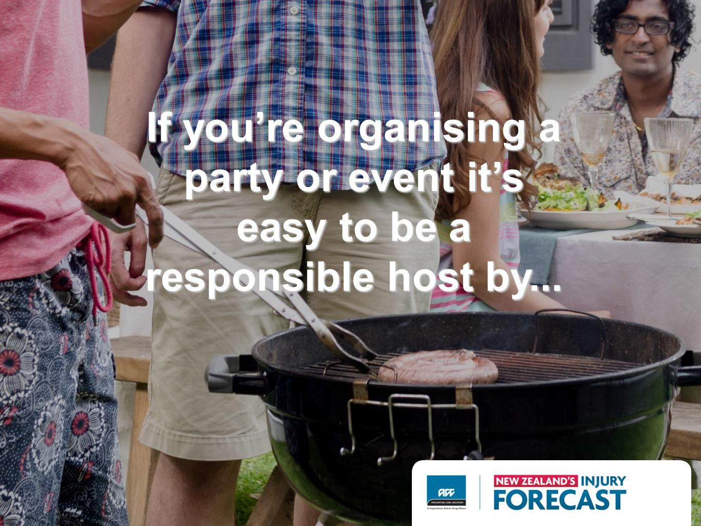 If youre organising a party or event its easy to be a responsible host by...