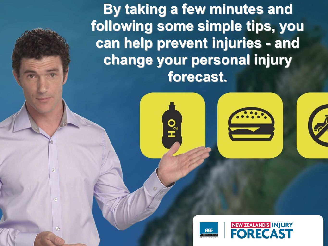 By taking a few minutes and following some simple tips, you can help prevent injuries - and change your personal injury forecast.