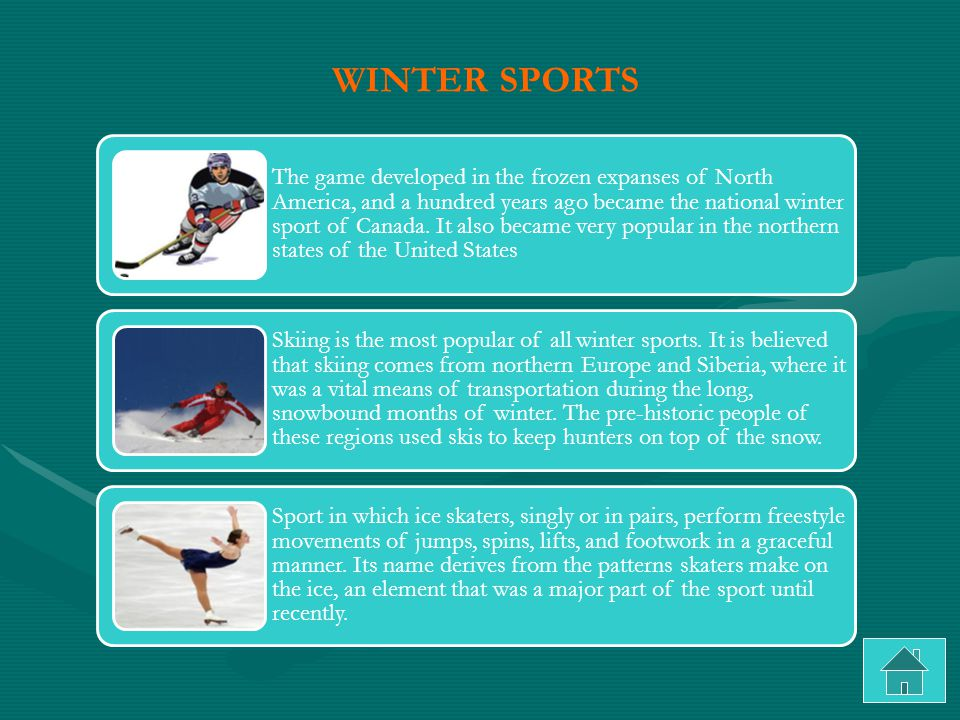 The game developed in the frozen expanses of North America, and a hundred years ago became the national winter sport of Canada.