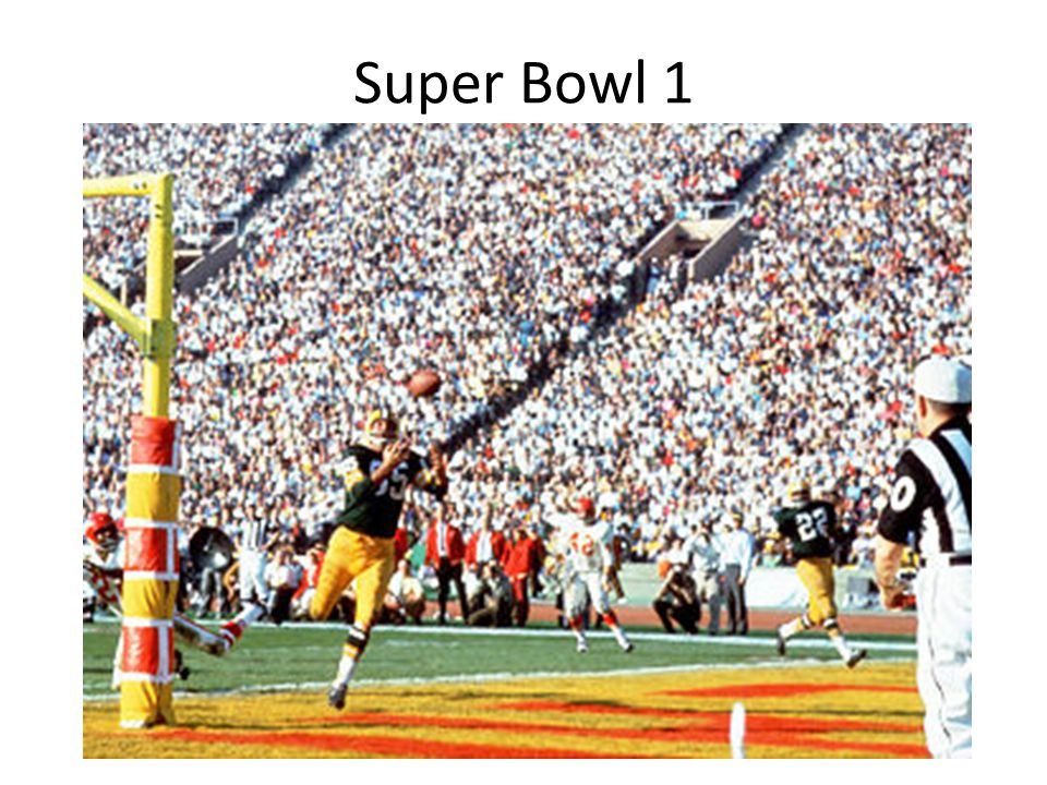 Super Bowl 1 Jkl;kl