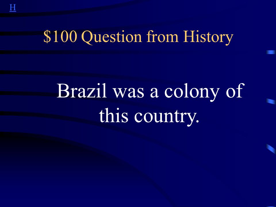 H $500 Answer from Geography What is tropical?