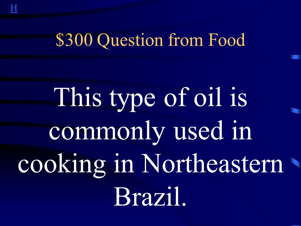 H $200 Answer from Food What is churrasco