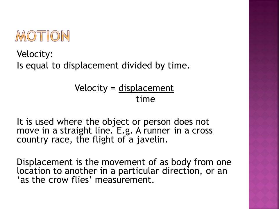 Five Kilometres (distance) One Kilometre (displacement)