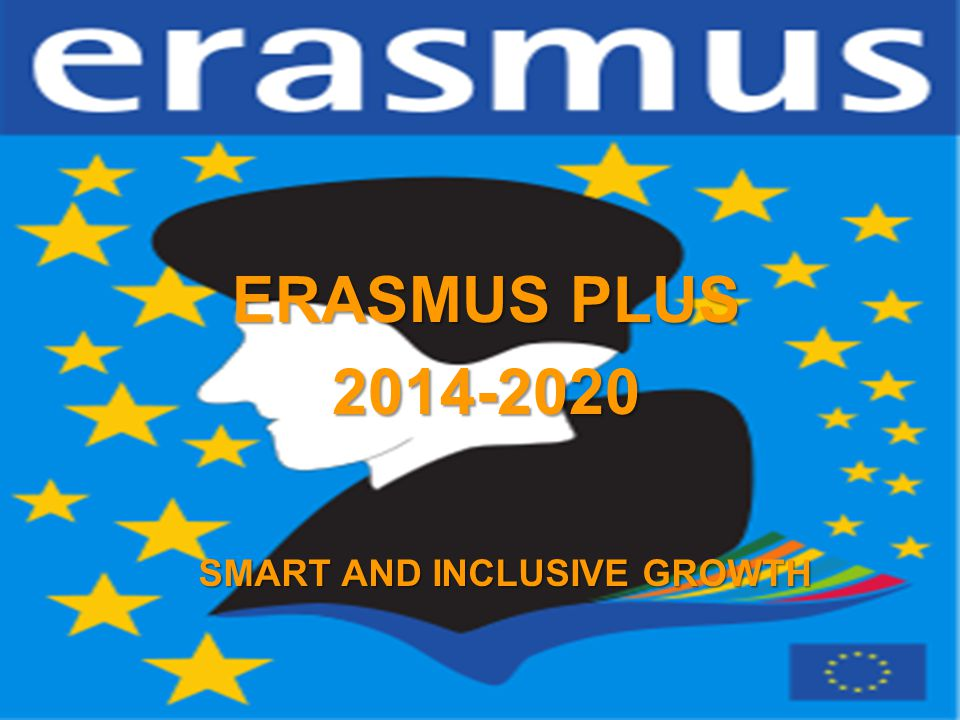A project implemented by the HTSPE consortium This project is funded by the European Union SMART AND INCLUSIVE GROWTH ERASMUS PLUS 2014-2020