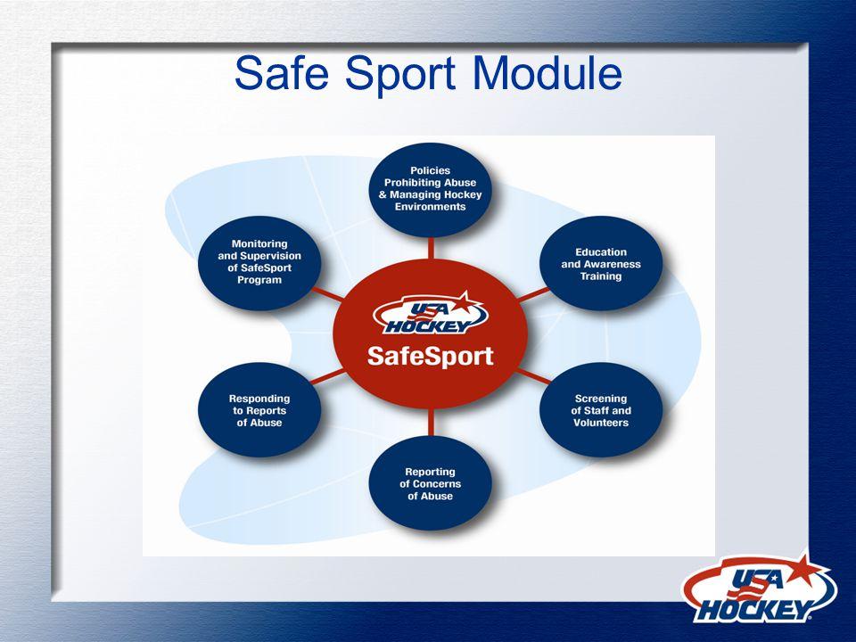 Safe Sport Module