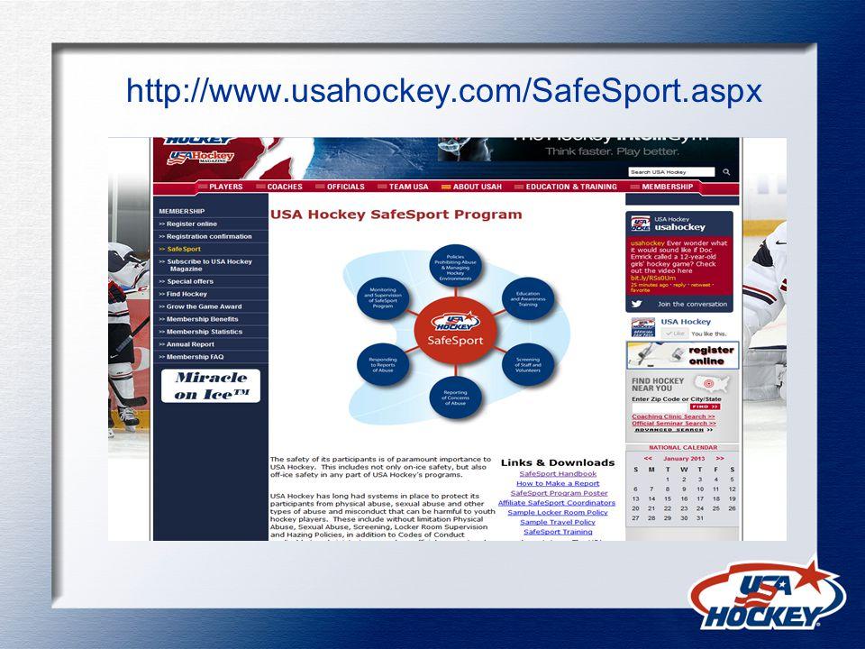 http://www.usahockey.com/SafeSport.aspx