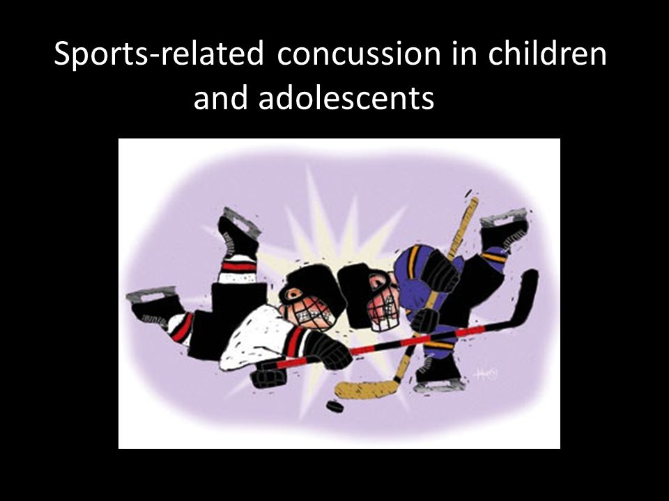 Sports-related concussion in children and adolescents