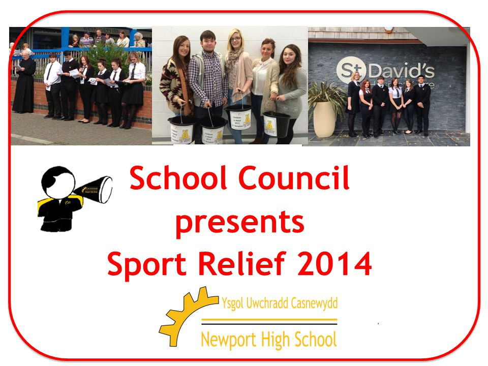 School Council presents Sport Relief 2014