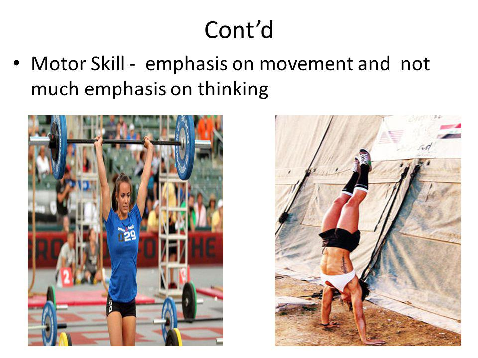 State the relationship between Skill, Abilty and Technique SKILL = ABILITY + SELECTION OF THE BEST TECHNIQUE FOR THAT SKILL
