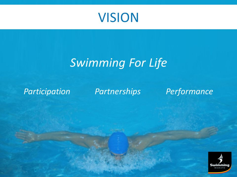 VISION Swimming For Life ParticipationPartnershipsPerformance