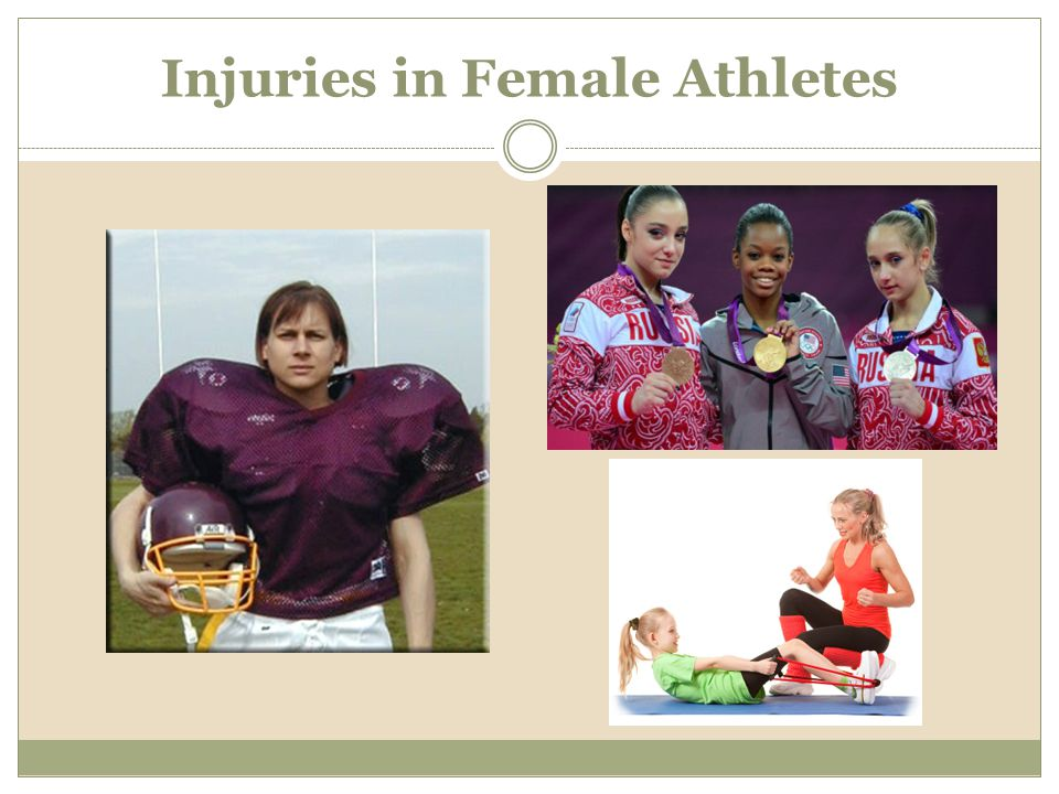 Injuries in Female Athletes
