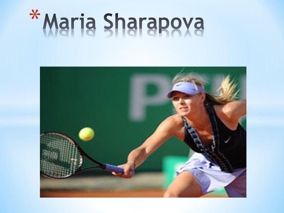 At the age of seventeen, Maria Sharapova won the Wimbledon tennis championship.