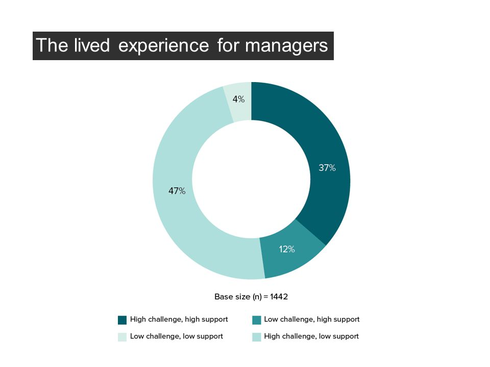 The lived experience for managers