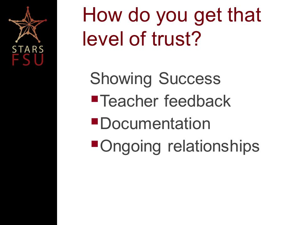 Collect Feedback Ask teachers and students Quiz/Survey Leave teacher with sponsor information to send feedback to