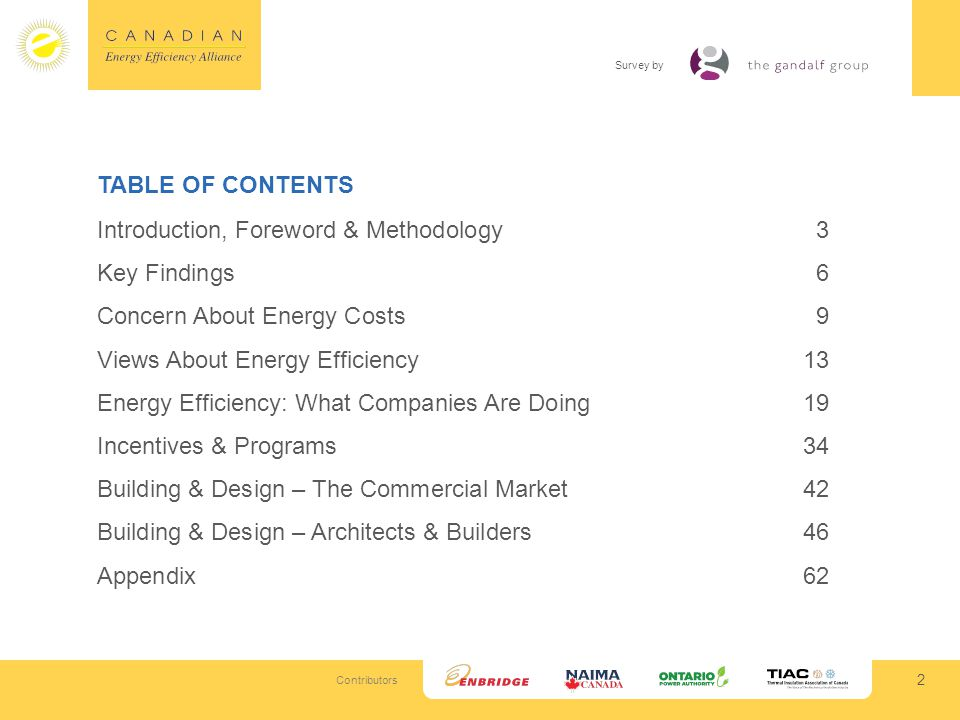 Contributors Survey by What is more important to customers:… 33 Among Building Sample; n=169